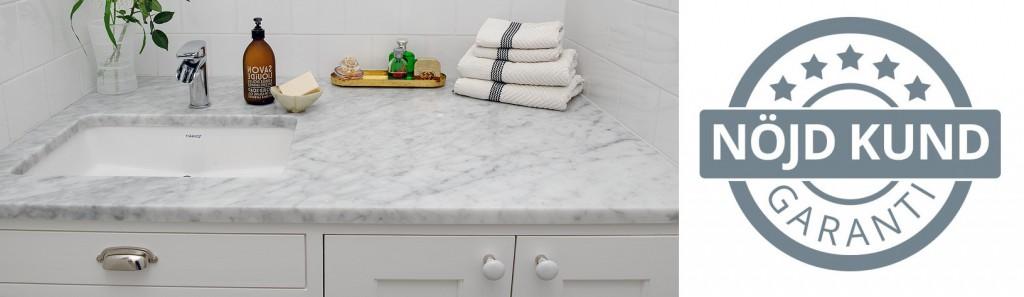 carrara marmor skiva